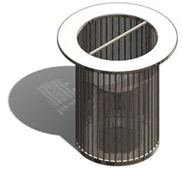 wedge wire screen baskets